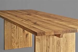 Massivholz Tisch : tisch aus massivholz der tisch saga von vitamin design ~ Pilothousefishingboats.com Haus und Dekorationen