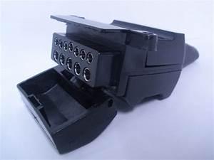 12 Pin Flat Trailer Socket Connector Car Female Caravan