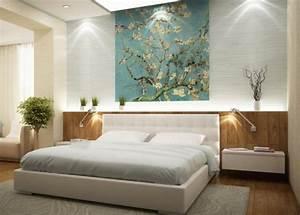 Tableau Pour Chambre Adulte : farbgestaltung im schlafzimmer 32 ideen f r farben ~ Melissatoandfro.com Idées de Décoration