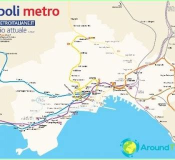 Transports Neapolē. Neapoles sabiedriskais transports ...