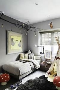 Chambre D Enfant : nos astuces en photos pour peindre une pi ce en deux ~ Melissatoandfro.com Idées de Décoration