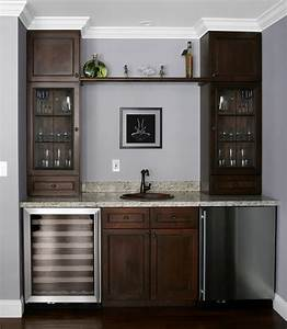 Wine fridge cabinet ideas cabinets matttroy for Home bar furniture with sink