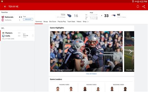 espn android app espn app updated with chromecast and live support