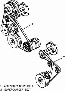 I Need The Serpentine Belt Diagram For A  U0026 39 95 Buick Park