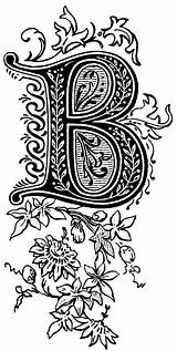 Lettering Fancy Letter Alphabet Letters Styles Zentangle Coloring Illuminated Fonts Calligraphy Decorative Typography Numbers Doodle Whimsy Monogram Patterns Colouring Template sketch template