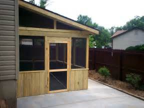 screened room on patio st louis decks screened porches