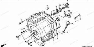 Honda Atv 2002 Oem Parts Diagram For Front Crankcase Cover