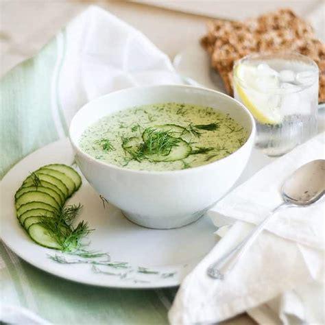 cucumber soup recipe cold cucumber soup