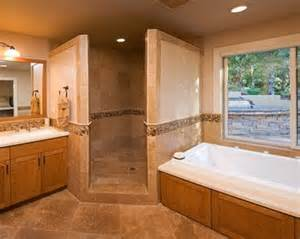 Small Half Bathroom Color Ideas by Corner Doorless Shower Design Ideas Pictures Remodel And