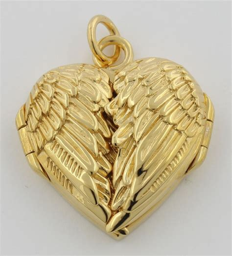 Beautiful Angel Wings Heart Locket 14kt Gold Plated Over. Plated Chains. Ancient Wedding Rings. Worldtime Watches. Personalized Bands. Diamond Pendant Chains. Platinum Bangles. Child Watches. Screw Bands
