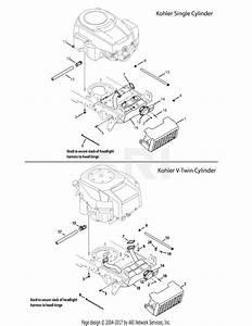 Troy Bilt 13ap61kp011 Horse  2009  Parts Diagram For Engine Accessories