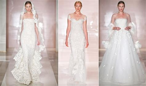 24 Dreamy Wedding Gowns From Reem Acra, Fall 2014
