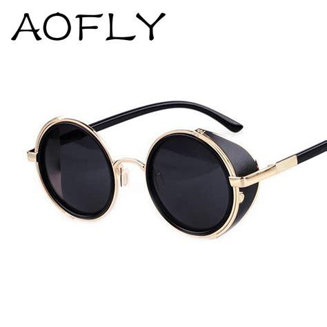 designer sunglasses for vintage steunk designer sunglasses side visor circle