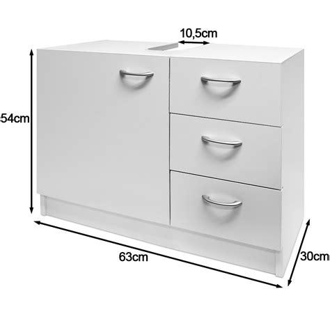 white  sink cabinet bathroom basin storage unit