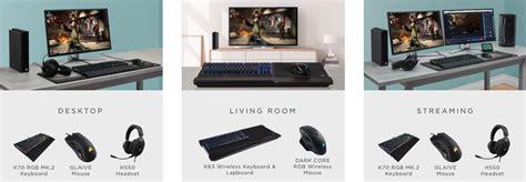 corsair se al 237 a con xbox y anuncia la compatibilidad de teclado y rat 243 n