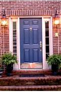 Front Door Paint Colors For Brick Homes by Red Brick House Door Colors Door I Love This Color Blue And Here S Some
