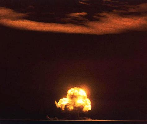 Nuclear Bomb Explosion History