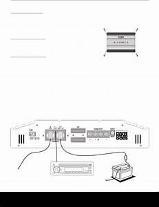 Wiring Diagram For Hifonics Amp