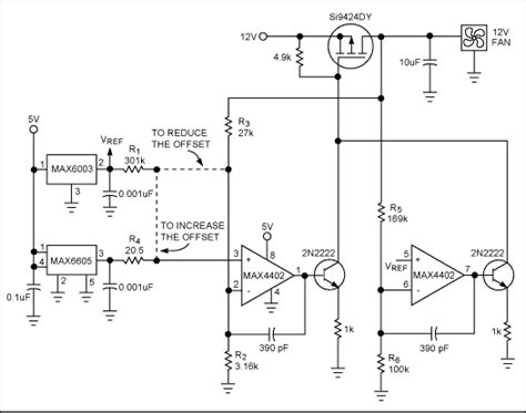 Circuit Generates Analog Fan Speed Control Maxim