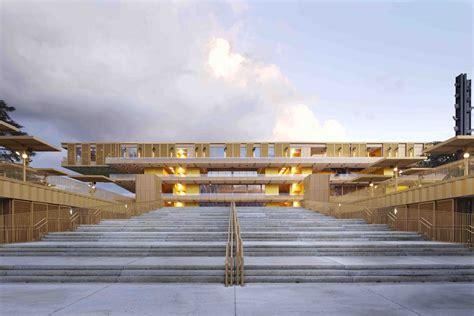 Hippodrome De Longch In by Dominique Perrault Architecture Hippodrome De Longch