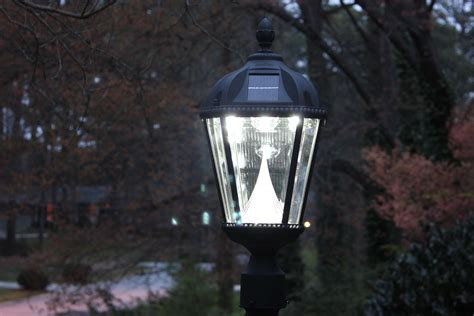 outdoor solar lights amazon amazon com gama sonic royal solar outdoor led light