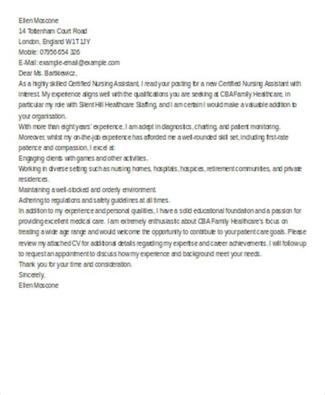 nursing cover letter templates  ms word