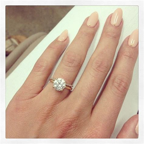 cat deeley wedding ring cat deeley engagement ring thin wedding band i love it