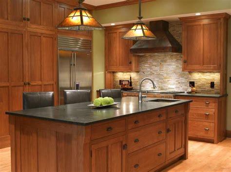 craftsman style mission style kitchen cabinets best 25 mission style kitchens ideas on