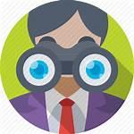 Binoculars Observation Clipart Transparent Webstockreview Marketing Iconfinder