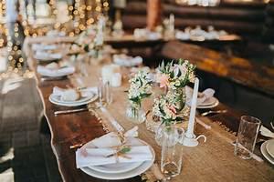 Tischdeko Für Hochzeit : beispiele f r tischdekoration auf langen tafeln bei der hochzeit ~ Eleganceandgraceweddings.com Haus und Dekorationen