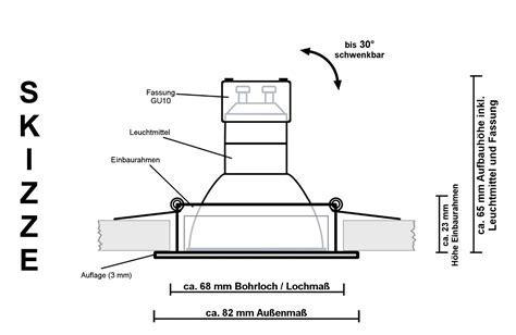 Dimmbare LED Einbauleuchten im Test 2015 von LEDANDO