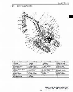 Case Cx20b Cx22b Cx27b Excavator Service Manual Pdf