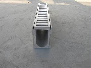polymer concrete drainage channel - u100-u300 - polycon