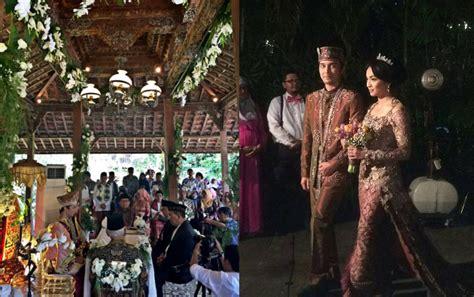 Dokter Kandungan Wanita Jakarta Selatan Kental Nuansa Minang Romantisnya Suasana Pernikahan Dimas Aditya Tika Bravani Kabar Berita