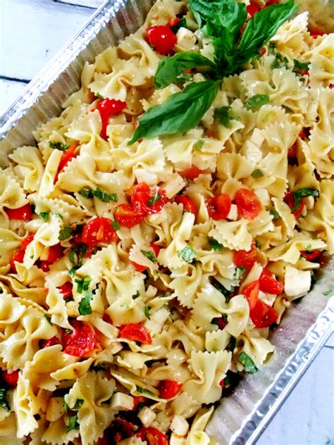 easy pasta salad ideas picnic food ideas for a crowd proud italian cook