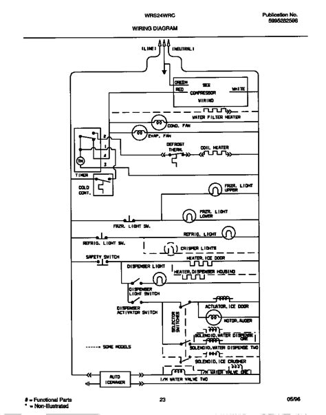 wiring diagram diagram parts list for wrs22wrcw2 white westinghouse parts refrigerator