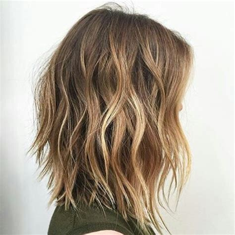 Hairstyles With Texture by Texture Lob Hair In 2019