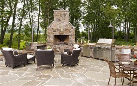 Outdoor Fireplace Plans  Home Design By Fuller
