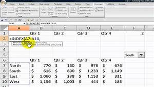 How To Dynamically Change Excel Chart Data