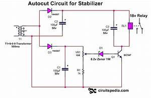 Pin On High Voltage Autocut Circuit For Stabilizer