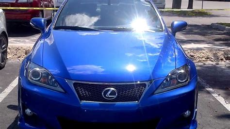 lexus is blue lexus is250 f sport ultrasonic blue mica youtube