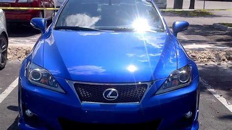 sporty lexus blue lexus is250 f sport ultrasonic blue mica youtube