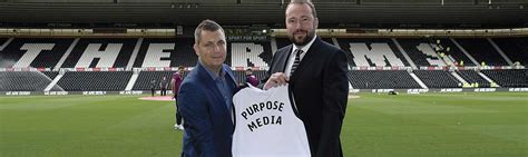 Derby County FC get a website fit for Purpose