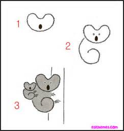 Cute Easy to Draw Animals Step by Step