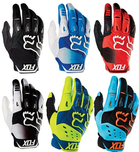 fox motocross gloves 38 95 fox racing mens pawtector race mx motocross gloves