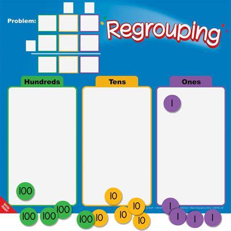 regrouping mats and manipulatives kit