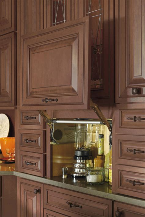 Cabinets Interior by Appliance Garage Cabinet Decora Cabinetry