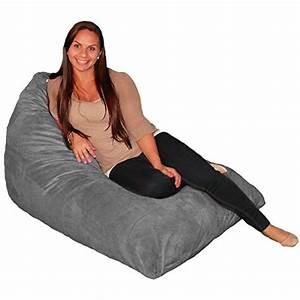 Bean, Bag, Chair, Premium, Cozy, Foam, Filled, Cozy, Lounger, Medium, Grey, You, Can, Find, More, Details, By