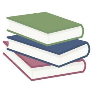 Transparent Stack of Books Clip Art