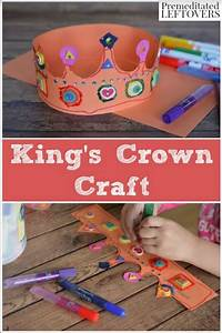 Bohrhammer King Craft : king 39 s crown craft for kids tutorial ~ Michelbontemps.com Haus und Dekorationen